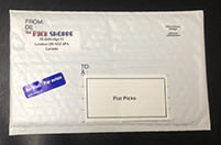 Photo of Shipping Envelope